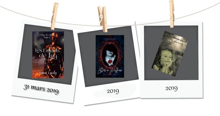 publications à venir 2019